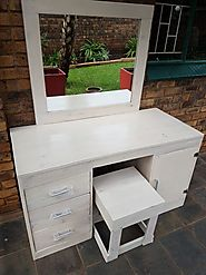 Collection Of Nicely Made Pallet Dressing Table Ideas - Sensod - Create. Connect. Brand.