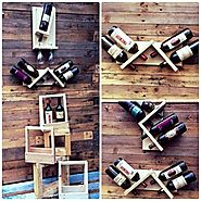 Innovative Pallet Wine Shelf And Storage Ideas on Sensod - Sensod - Create. Connect. Brand.