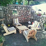 Outdoor Pallet Furniture Ideas To Blow Your Mind - Sensod - Create. Connect. Brand.