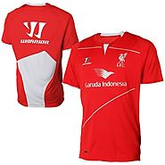 Liverpool FC Warrior Youth Training 2014-15 Jersey - Red - by Liverpool