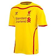Liverpool FC Warrior Youth Away Soccer Jersey
