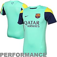 Nike F.C. Barcelona 2013-14 Squad Training Top Jersey