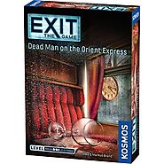 EXiT - Dead Man on the Orient Express | Board Game | Zatu Games UK