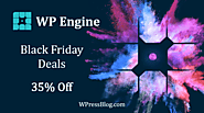 WP Engine Black Friday Deal 2019 and Cyber Monday Sale [35% OFF]