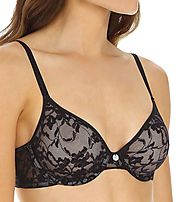 DKNY Women's Intimates Signature Lace Unlined Unpadded Bra 451238 – My Discontinued Bra