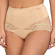 DKNY Women's Under Slimmers Lace Curves Shaper Brief Panty 656103 – My Discontinued Bra