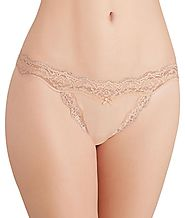 DKNY Women's Downtown Cotton Thong Panty Underwear 573270 – My Discontinued Bra