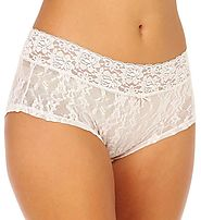 DKNY Women's Signature Lace Boyshort Panty Underwear 545000 – My Discontinued Bra
