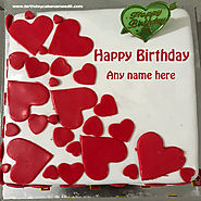 Happy Birthday Cake With Name Editor