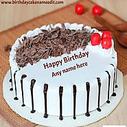 Happy Birthday Cake Image With Name