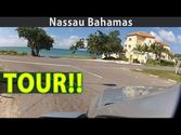 Nassau Bahamas Virtual Tour: Drive around the ENTIRE island! Part 1
