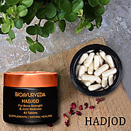 Hadjod- An Ayurvedic Substituted for Restoring and strengthening bone health