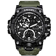 Waterproof Military Sports Watch | Date Multi Function, LED Alarm Stopwatch