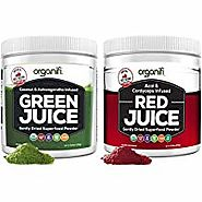 Organifi: Green Juice - Organic Superfood Supplement Powder - 30 Day Supply - USDA Certified Organic Vegan Greens- 9....