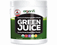 Organic Green Juice Superfood Powder with Coconut & Ashwagandha (30 Servings)