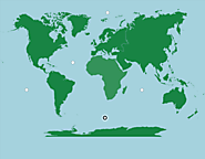 World: Continents and Oceans - Map Quiz Game