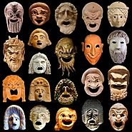 Ancient Greek Theatre Elements: Masks