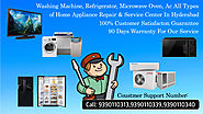 Lg Washing Machine Service Center in Lingampally