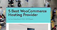 5 Best WooCommerce Hosting Provider | Smore Newsletters
