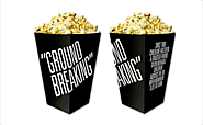Paper Popcorn Boxes | Wholesale Custom Small & Large Popcorn Bags Supplier
