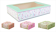 Wholesale Cake Boxes | Custom Cake Packaging Printing Boxes
