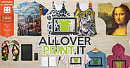 Print on Demand All-Over-Print T-Shirt Dropship