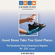 Professional Shoe Cleaning & Repairs from Laundry Place