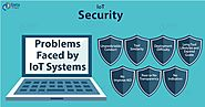 IoT Security - Major Problems Faced by IoT System - DataFlair