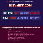No.1 Traffic Exchange Platform: Get Free Website Traffic - HITvsHIT.com