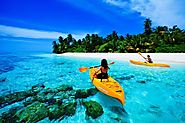 Kayaking in Maldives