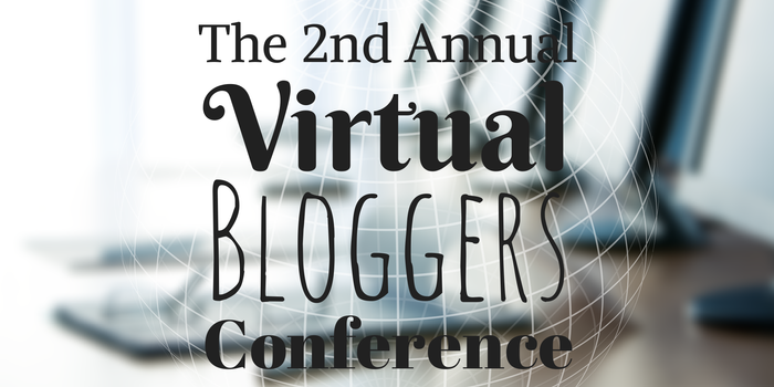 Headline for The 2nd Annual Virtual Bloggers Conference Speakers