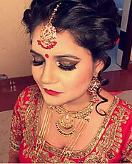 Pin by ShubhBaraat- India's Wedding Search Engine on Bridal Makeup Artist