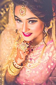 Book The Best Hair and Makeup Artist now | Bridal hairstyles | Indian Bride - Shubhbaraat