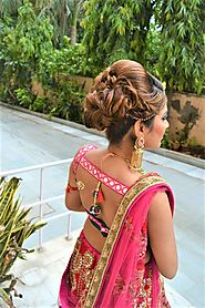 Our favorite a compilation of wedding hairstyles for Indian weddings ... part of your bridal look