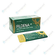 Fildena 25 mg : Reviews, Directions, Side effects, Dosage | Strapcart