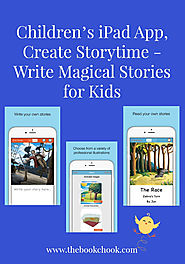 Children's iPad App, Create Storytime - Write Magical Stories for Kids