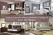 Explore Leon Furniture's Inclusive Variety of Smart Bed Designs