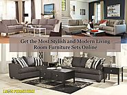 Get the Most Stylish and Modern Living Room Furniture Sets Online – Leon Furniture Store