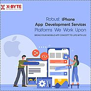 Top iOS iPhone App Development Company Services USA, UAE | X-Byte Enterprise Solutions