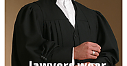 After all, why do lawyers wear black coat!