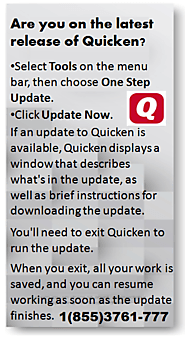 Release of Quicken Accounting 1(855)3761-777
