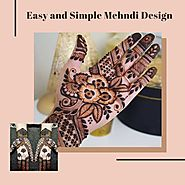 Top 25 Easy and Simple Mehndi Design Images