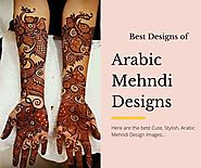 Best Arabic Mehndi Design Images and Pictures