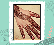 Latest 25 Arabic Mehndi Design Images and Pictures