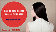 Website at https://trendkw.doodlekit.com/blog/entry/6265678/how-to-take-proper-care-of-your-hairs
