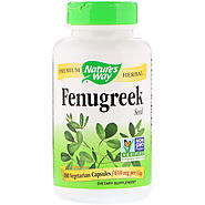 Buy Nature's Way Fenugreek Seed (610 Mg)-180 Capsules