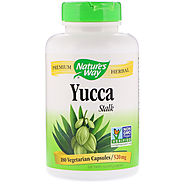 Nature's Way, Yucca Stalk, 520 mg, 180 Vegetarian Capsules