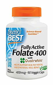 Fully Active Folate with Quatrefolic