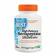 Doctors Best High Potency Serrapeptase,120,000 SPU