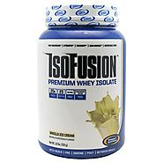 Isofusion premium whey powder by Gaspari Nutritio